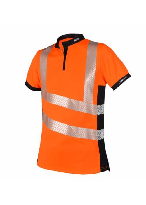 STEIN - X25 VENTOUT T-Shirt Short Sleeve, Hi-Viz Orange