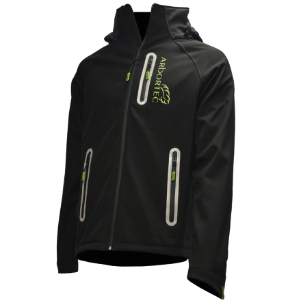 Caiman Breathedry Softshell Black