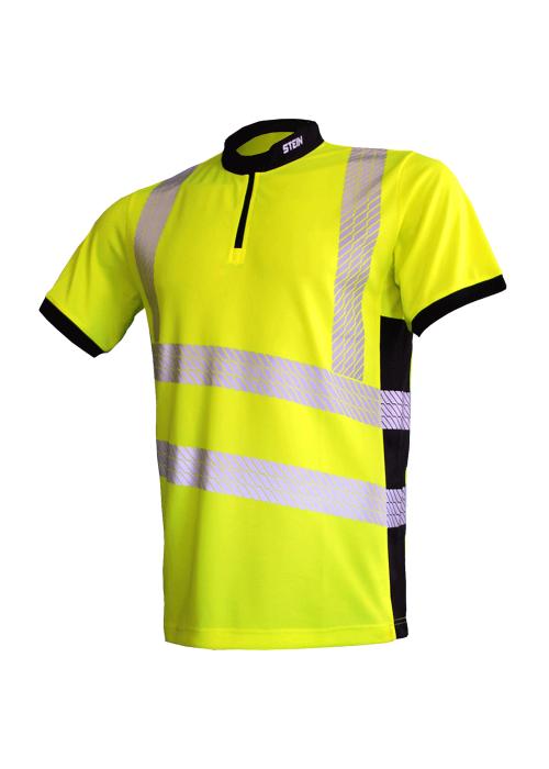 STEIN - X25 VENTOUT T-Shirt Short Sleeve, Hi-Viz Yellow