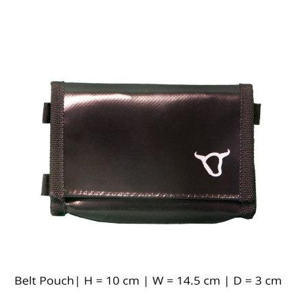 Silver Bull - Belt Pouch