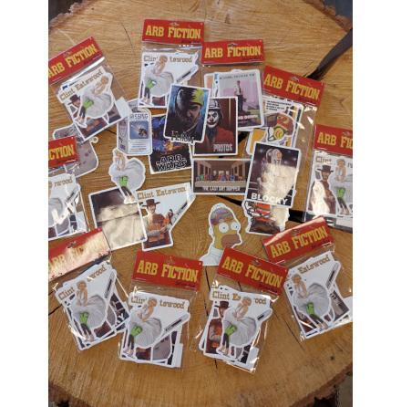 ARB FICTION Sticker Pack