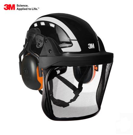 3M; SecureFit™;  Safety Helmet X5000 - Dual Standard EN12492 and EN397 - ARBORIST KIT