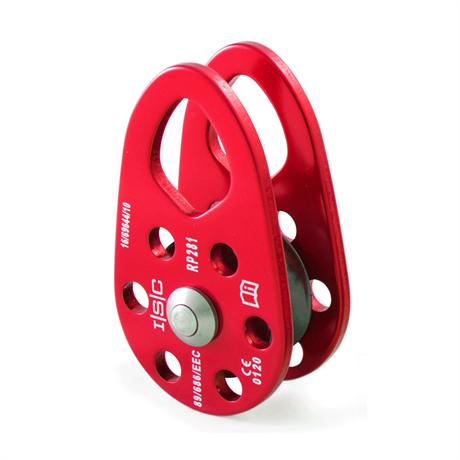 Red Rope Wrench Swing Cheek Pulley, Designad för att användas med Rope Wrench